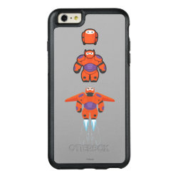 OtterBox Symmetry iPhone 6/6s Plus Case with Baymax Mech Flight Take-Off design