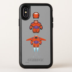 OtterBox Apple iPhone X Symmetry Case with Baymax Mech Flight Take-Off design