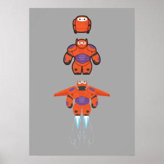 Baymax Orange Super Suit Poster