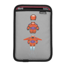 iPad Mini Sleeve with Baymax Mech Flight Take-Off design