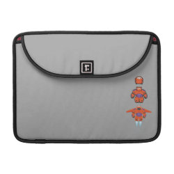 Macbook Pro 13' Flap Sleeve with Baymax Mech Flight Take-Off design