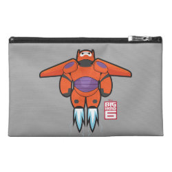 Travel Accessory Bag with Baymax Mech Flight Take-Off design