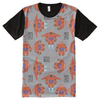 Baymax Orange Supersuit Pattern All-Over-Print Shirt
