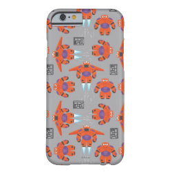 Case-Mate Barely There iPhone 6 Case with Baymax in Battle Armor Superhero Pattern design