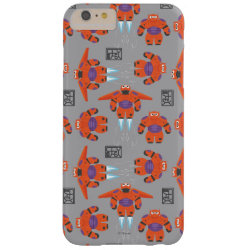 Case-Mate Barely There iPhone 6 Plus Case with Baymax in Battle Armor Superhero Pattern design