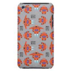 Case-Mate iPod Touch Barely There Case with Baymax in Battle Armor Superhero Pattern design