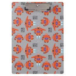Clipboard with Baymax in Battle Armor Superhero Pattern design