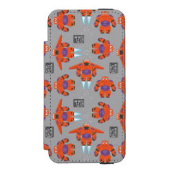 Incipio Watson™ iPhone 5/5s Wallet Case with Baymax in Battle Armor Superhero Pattern design