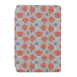 Baymax in Battle Armor Superhero Pattern iPad mini Cover