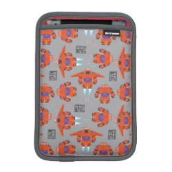 Baymax in Battle Armor Superhero Pattern iPad Mini Sleeve