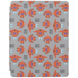 iPad 2/3/4 Cover with Baymax in Battle Armor Superhero Pattern design