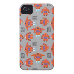 Case-Mate iPhone 4 Barely There Universal Case with Baymax in Battle Armor Superhero Pattern design