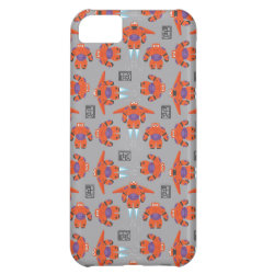 Case-Mate Barely There iPhone 5C Case with Baymax in Battle Armor Superhero Pattern design