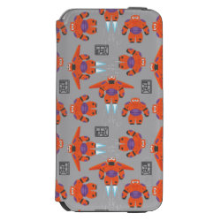 Incipio Watson™ iPhone 6 Wallet Case with Baymax in Battle Armor Superhero Pattern design