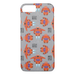 Case-Mate Barely There iPhone 7 Case with Baymax in Battle Armor Superhero Pattern design