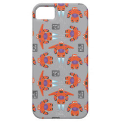 Case-Mate Vibe iPhone 5 Case with Baymax in Battle Armor Superhero Pattern design