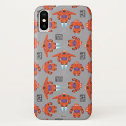 Case-Mate Barely There iPhone X Case with Baymax in Battle Armor Superhero Pattern design