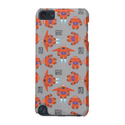 Case-Mate Barely There 5th Generation iPod Touch Case with Baymax in Battle Armor Superhero Pattern design