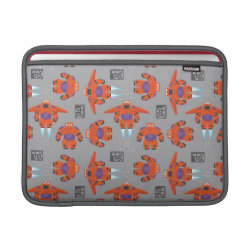 Baymax in Battle Armor Superhero Pattern Macbook Air Sleeve