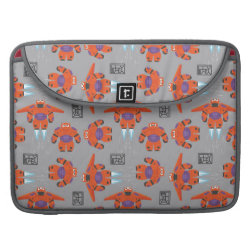 Baymax in Battle Armor Superhero Pattern Macbook Pro 15