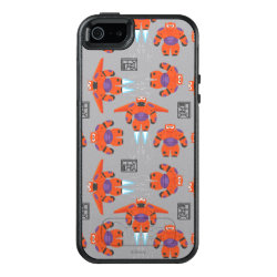 OtterBox Symmetry iPhone SE/5/5s Case with Baymax in Battle Armor Superhero Pattern design