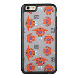 OtterBox Symmetry iPhone 6/6s Plus Case with Baymax in Battle Armor Superhero Pattern design