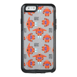 OtterBox Symmetry iPhone 6/6s Case with Baymax in Battle Armor Superhero Pattern design