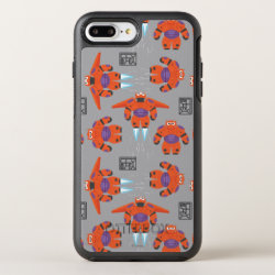 OtterBox Apple iPhone 7 Plus Symmetry Case with Baymax in Battle Armor Superhero Pattern design