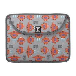 Macbook Pro 13' Flap Sleeve with Baymax in Battle Armor Superhero Pattern design