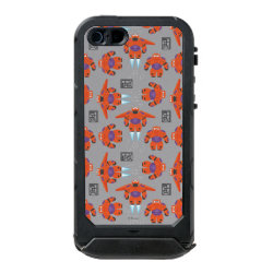 Incipio Feather Shine iPhone 5/5s Case with Baymax in Battle Armor Superhero Pattern design