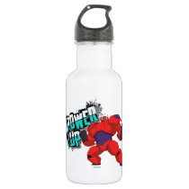 Baymax   Power Up Stainless Steel Water Bottle