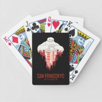 Baymax   San Fransokyo - Big Hero 6 Bicycle Playing Cards
