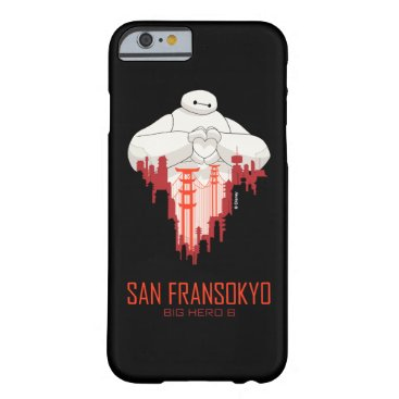 Baymax   San Fransokyo - Big Hero 6 Barely There iPhone 6 Case