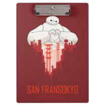 Baymax   San Fransokyo - Big Hero 6 Clipboard