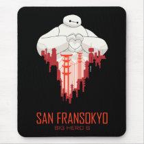 Baymax   San Fransokyo - Big Hero 6 Mouse Pad