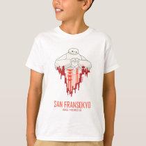 Baymax   San Fransokyo - Big Hero 6 T-Shirt