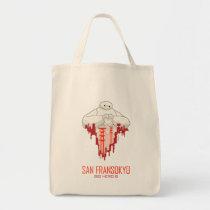Baymax   San Fransokyo - Big Hero 6 Tote Bag