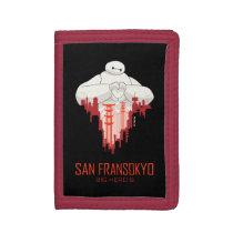 Baymax   San Fransokyo - Big Hero 6 Trifold Wallet