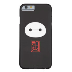 Case-Mate Barely There iPhone 6 Case with Cute Baymax Seal design