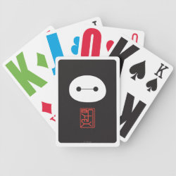Playing Cards with Cute Baymax Seal design