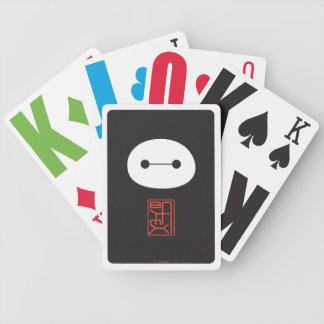 Baymax Seal Bicycle Playing Cards