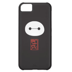 Case-Mate Barely There iPhone 5C Case with Cute Baymax Seal design