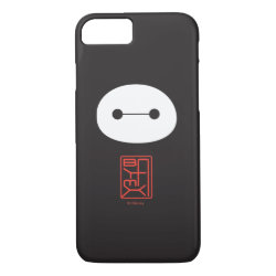 Case-Mate Barely There iPhone 7 Case with Cute Baymax Seal design