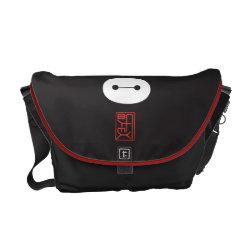 Rickshaw Medium Zero Messenger Bag with Cute Baymax Seal design