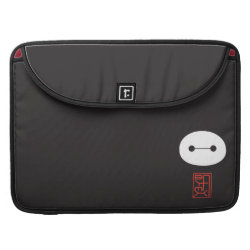 Macbook Pro 15' Flap Sleeve with Cute Baymax Seal design