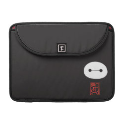 Macbook Pro 13' Flap Sleeve with Cute Baymax Seal design