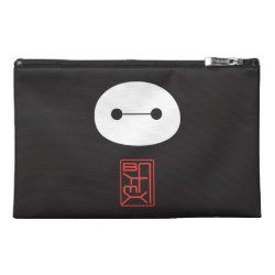Travel Accessory Bag with Cute Baymax Seal design