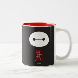 Baymax Seal Two-Tone Coffee Mug