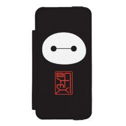 Incipio Watson™ iPhone 5/5s Wallet Case with Cute Baymax Seal design