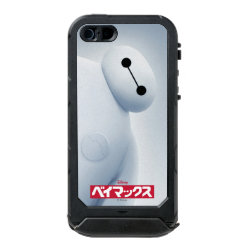 Incipio Feather Shine iPhone 5/5s Case with Baymax Selfie design